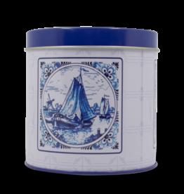 Stroopwafel Tin - Delft Blue