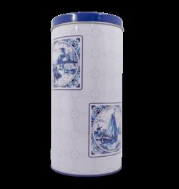 Rusk Tin - Delft Blue