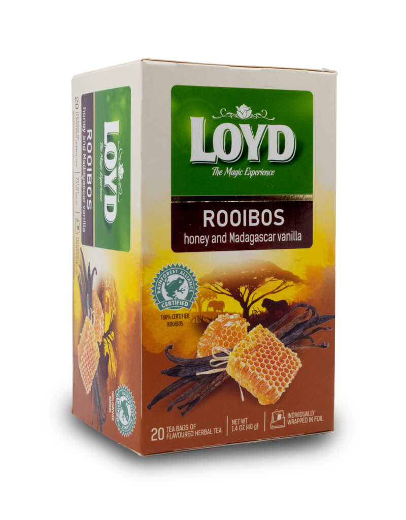 Loyd Loyd Rooibos Honey Vanilla 20x2g