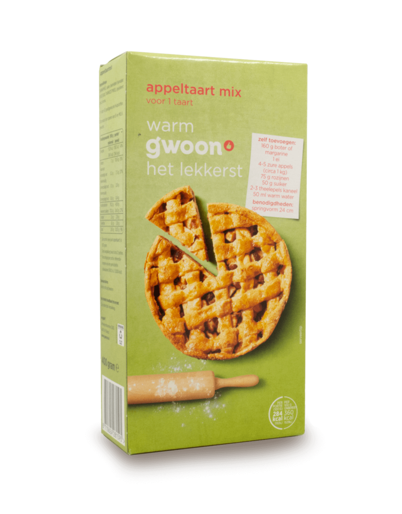Gwoon Gwoon Appeltaart Apple Pie Mix 400g