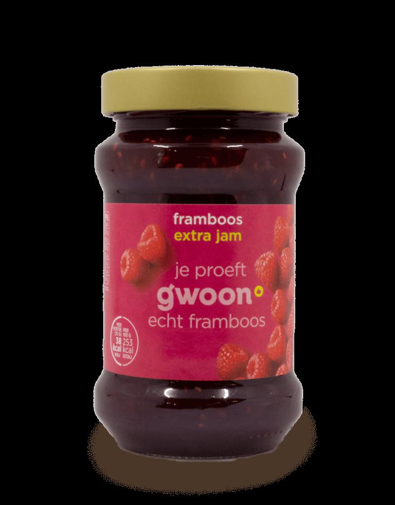 Gwoon Gwoon Extra Jam - Raspberry 450g