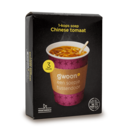 Gwoon One Cup Soup - Chinese Tomato