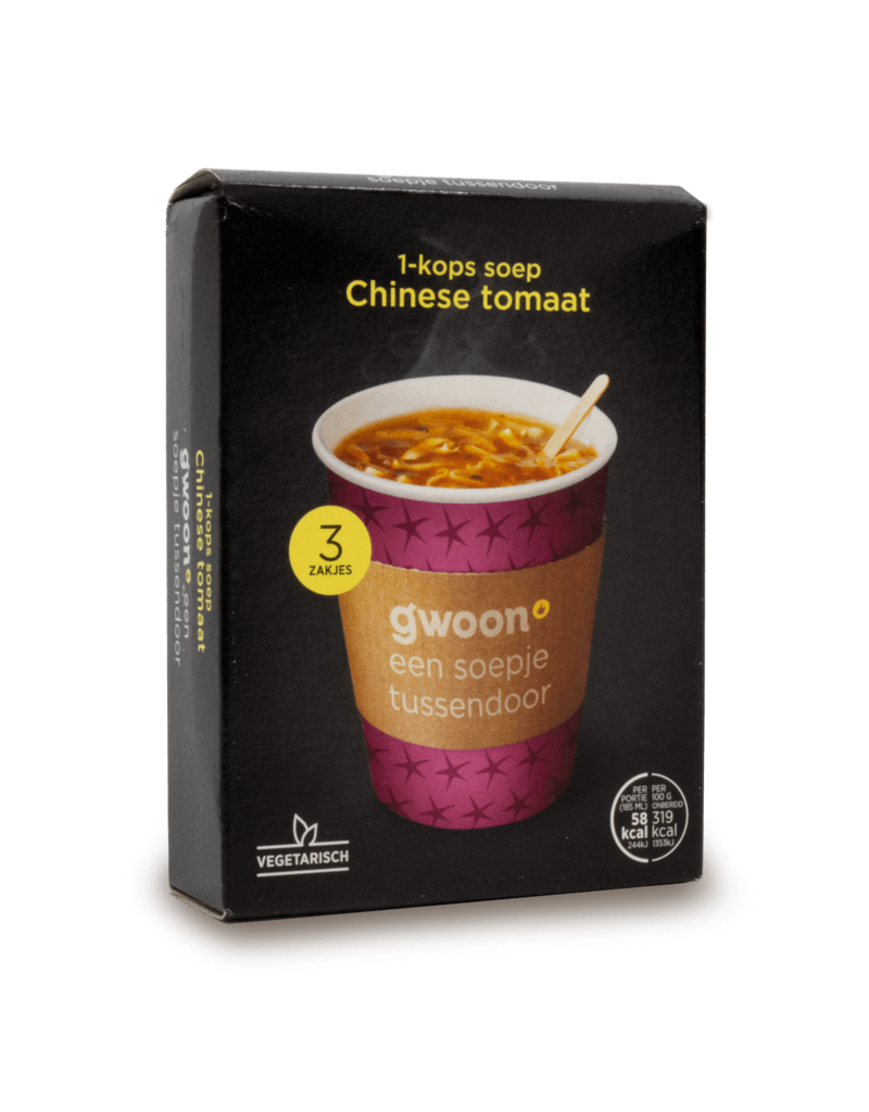 Gwoon Gwoon One Cup Soup - Chinese Tomato