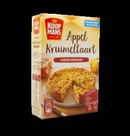Koopmans Appelkaneel Apple Crumble Cake Mix 400g