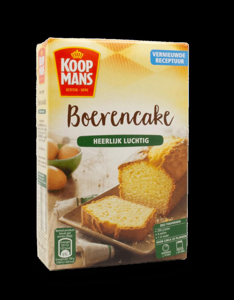 Koopmans Koopmans Boerencakemeel Farmers Cake Mix 400g