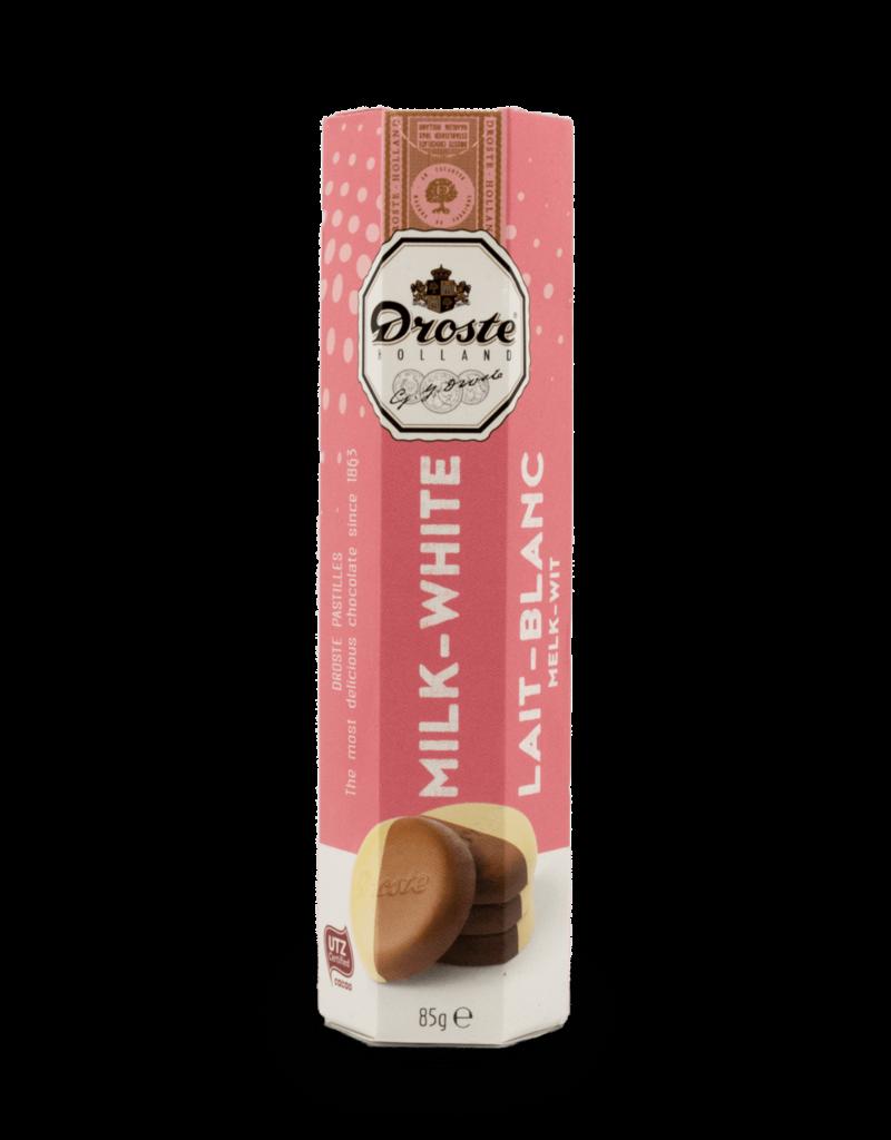 Droste Droste Chocolate Pastilles - Milk / White 80g