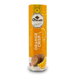 Droste Chocolate Pastilles - Orange 80g
