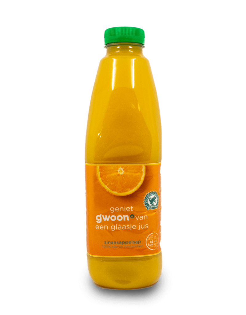 Gwoon Gwoon Orange Juice Concentrate 1L