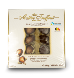 Maitre Truffout Chocolate Seashells 250g