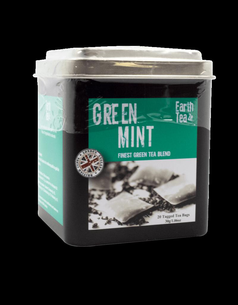 Earthteaze Earthteaze Tin - Green Mint 30g