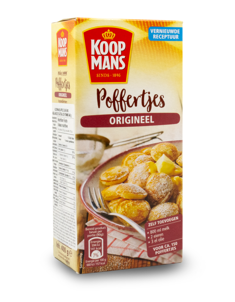 Koopmans Koopmans Poffertjes Mix 400g