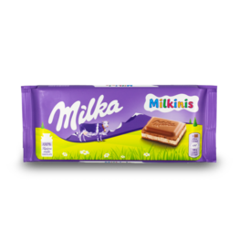 Milka Milkinis Chocolate Bar 100g
