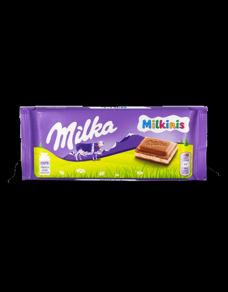 Milka Milka Milkinis Chocolate Bar 100g