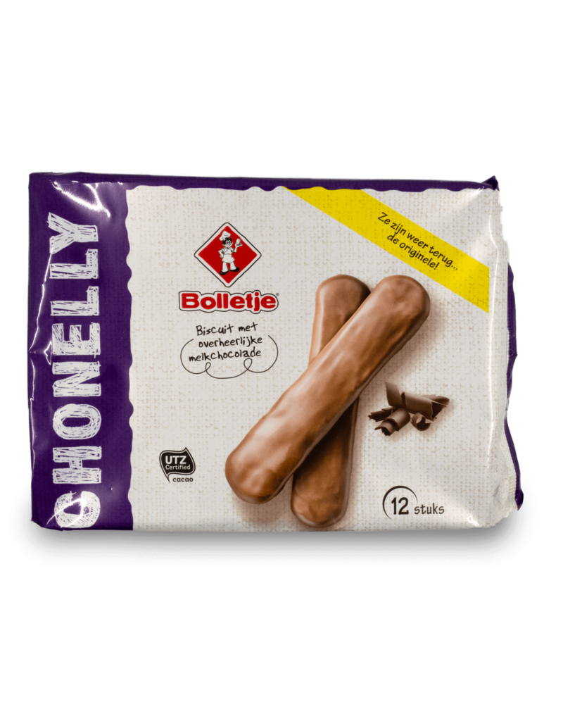 Bolletje Bolletje Chonelly Chocolate Fingers 190g