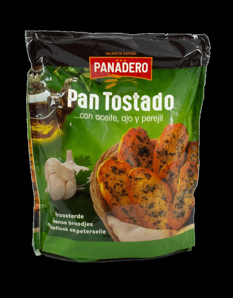 Panadero Panadero Pan Tostado Garlic Crackers 160g