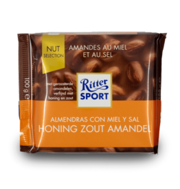 Ritter Sport Almond Honey Seasalt Chocolate 100g