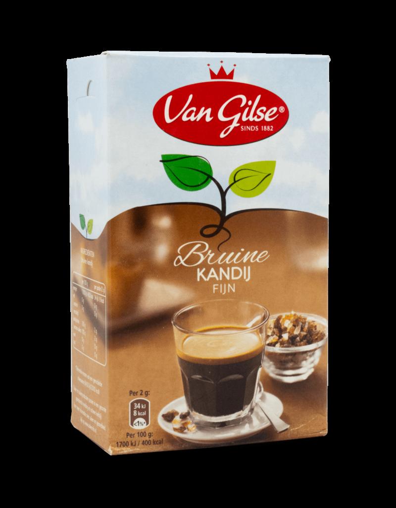 Van Gilse Van Gilse Fine Brown Candy Sugar (Kandij) 500g