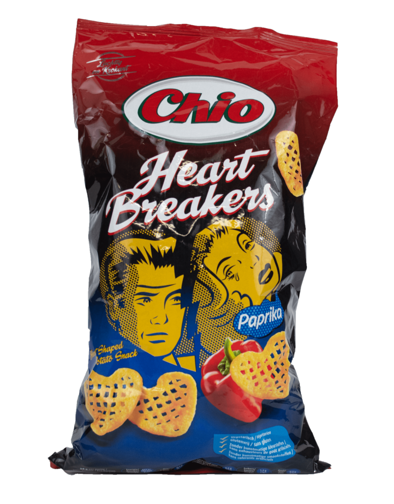 Chio Chio Heart Breakers - Paprika 125g
