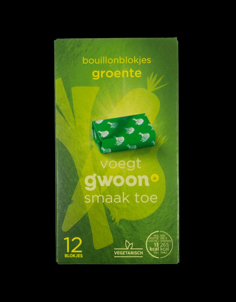 Gwoon Gwoon Bouillon Block Vegetable 120g