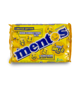 Mentos Say Hello Lemonade 5pk