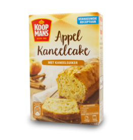 Koopmans Appelkaneel Apple-Cinnamon Cake Mix 400g
