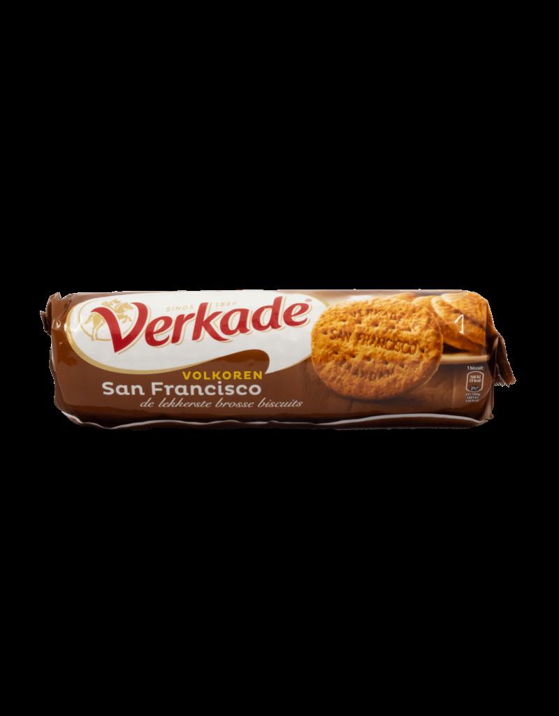 Verkade Verkade San Francisco Cookies Wholewheat 111g