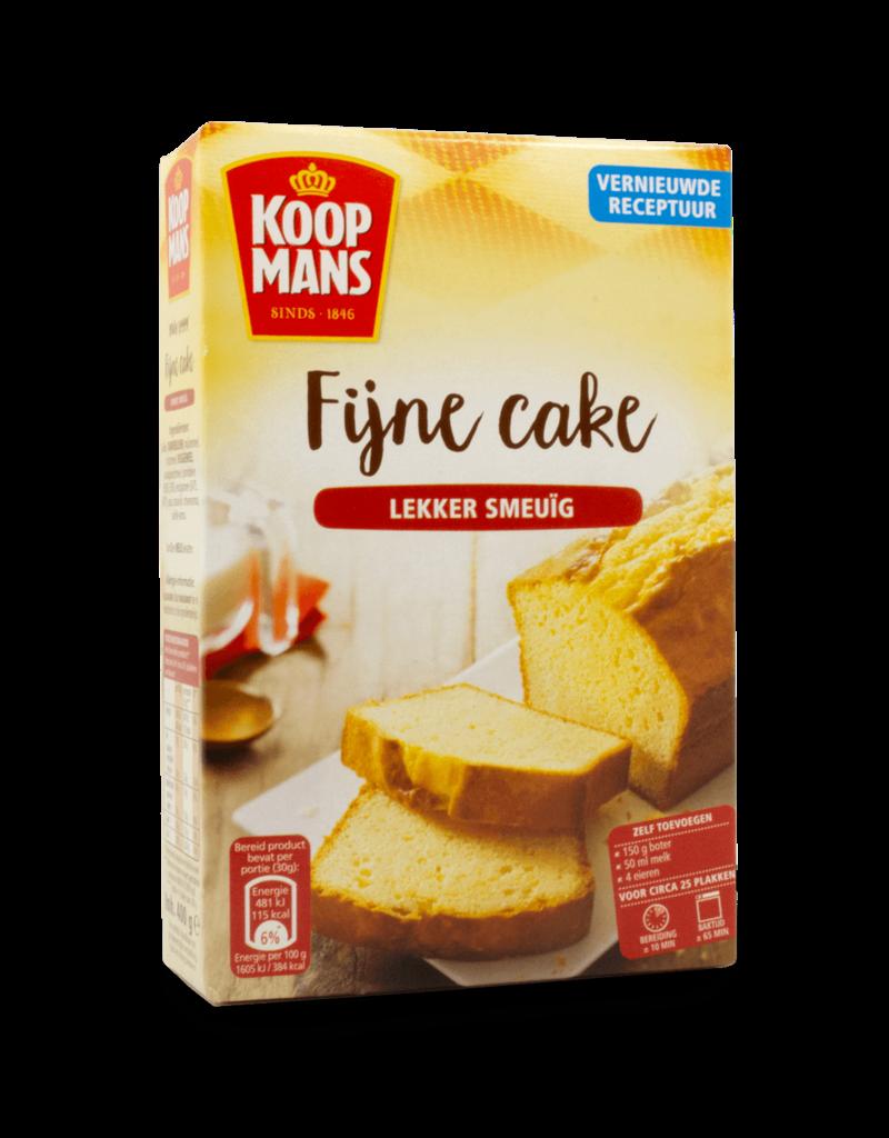 Koopmans Koopmans Fijne Cake Fine Cake Mix 400g