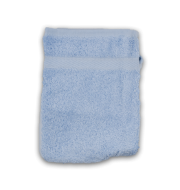 Washandjes 16cm x 21cm Light Blue