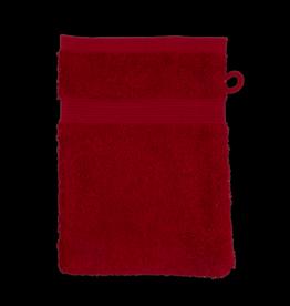 Washandjes 16cm x 21cm Red