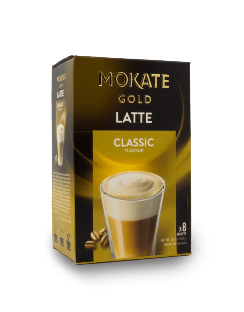 Mokate Mokate Instant Latte 8x10g