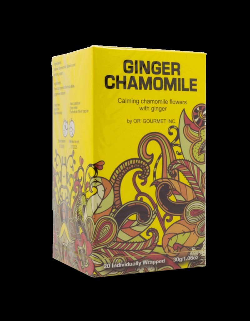 Earthteaze Earthteaze Ginger Chamomile Tea 20pk