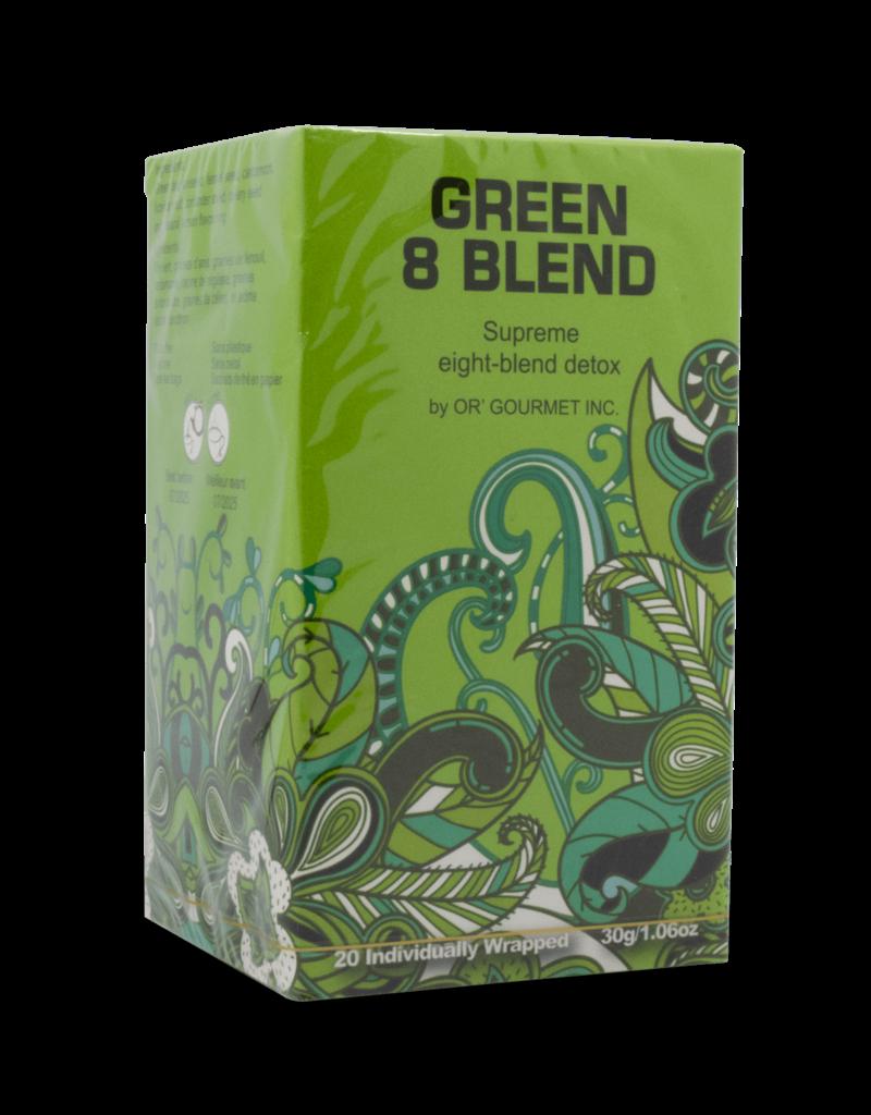 Earthteaze Earthteaze Green 8 Blend Tea 20pk