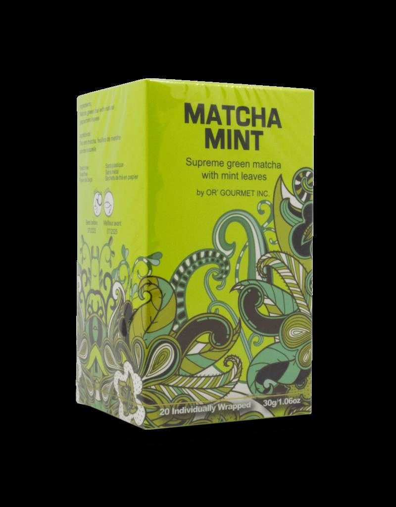 Earthteaze Earthteaze Matcha Mint Tea 20pk
