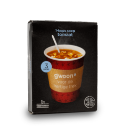 Gwoon One Cup Soup - Tomato