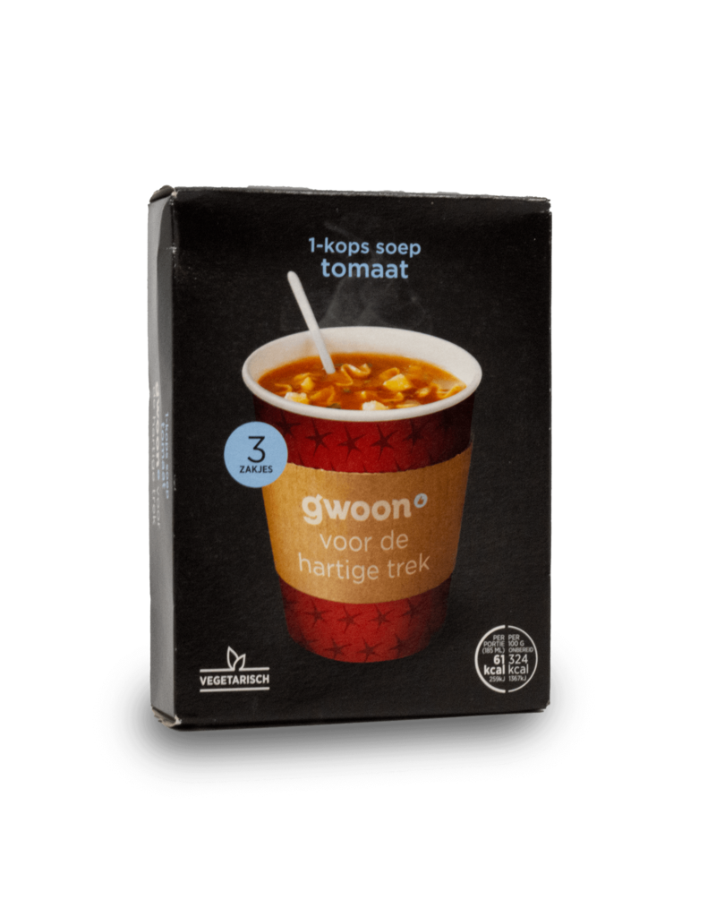 Gwoon Gwoon One Cup Soup - Tomato