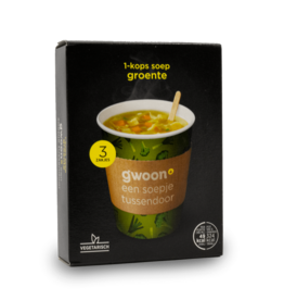 Gwoon One Cup Soup - Vegetable