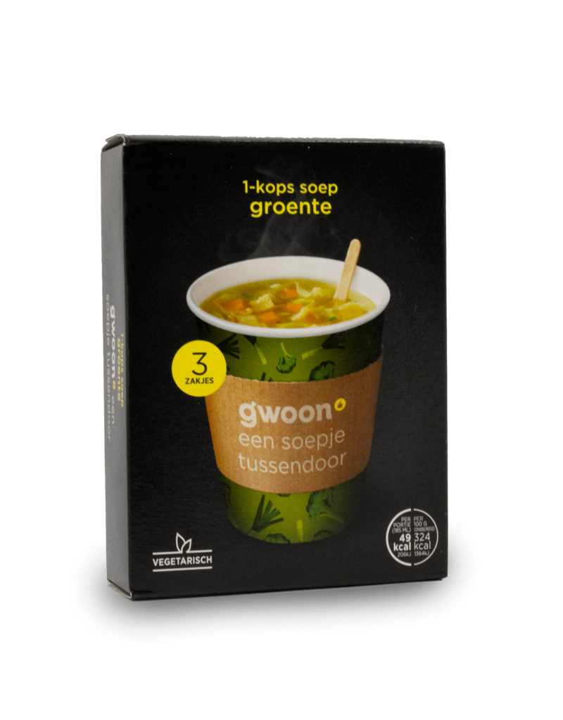 Gwoon Gwoon One Cup Soup - Vegetable