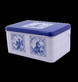 Speculaas Tin - Delft Blue
