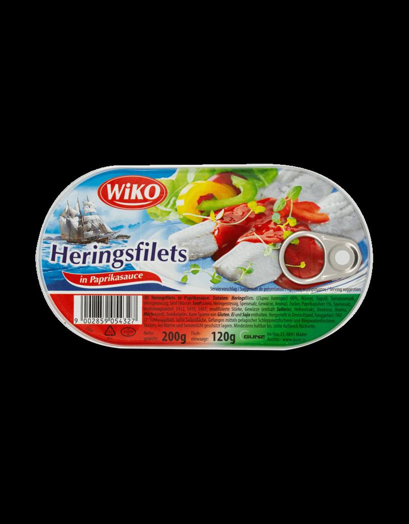 Wiko Wiko Herring Fillets - Paprika 200g