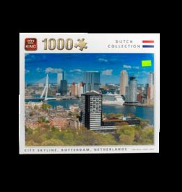King Puzzle - 1000pcs - Rotterdam Skyline