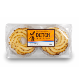 Dutch Tradition Coconut Rings 180g