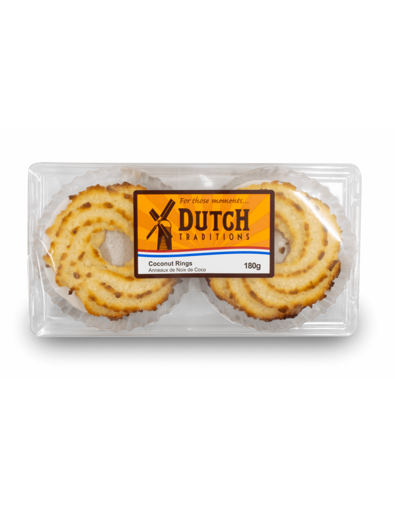 Dutch Tradition Dutch Traditions Coconut Rings 180g