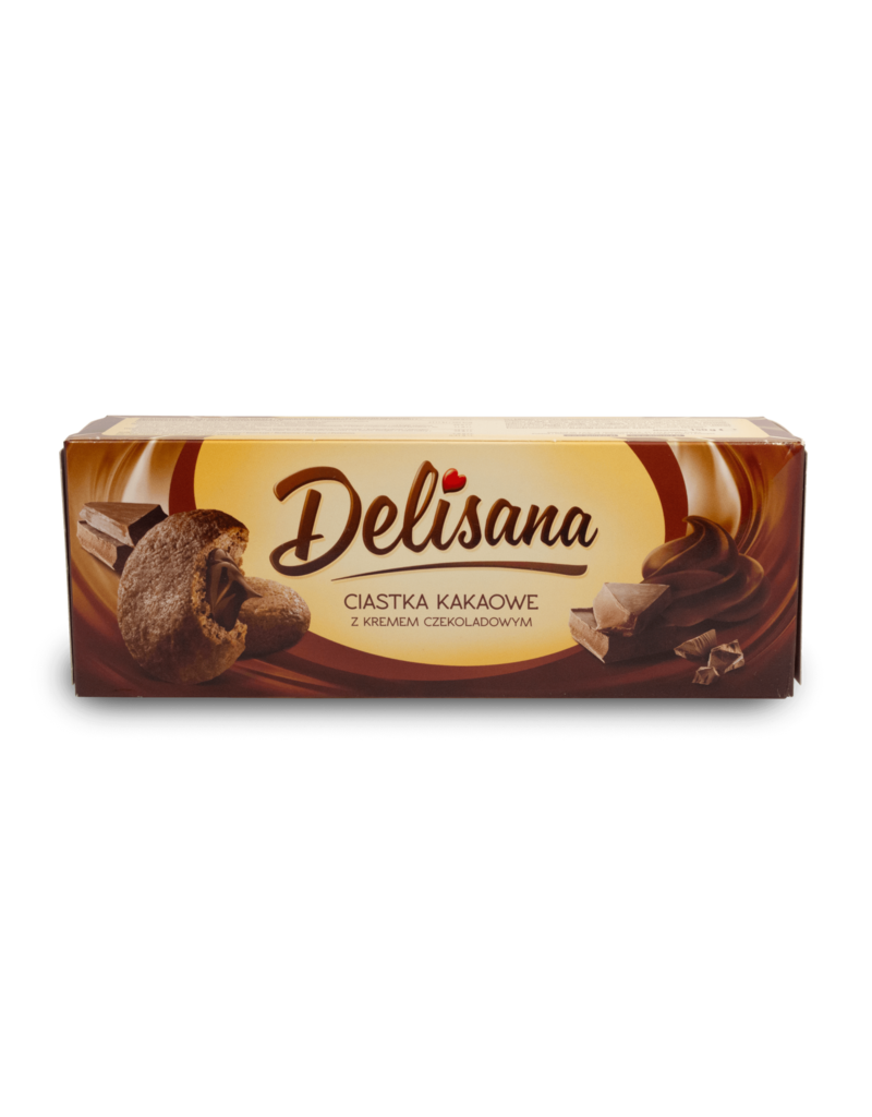 Delisana Delisana Chocolate Cream Biscuits 150g