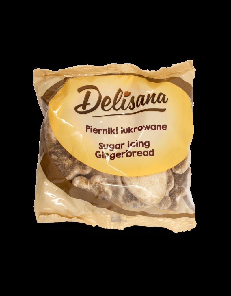 Delisana Delisana Pfeffernuesse Iced Gingerbread 180g