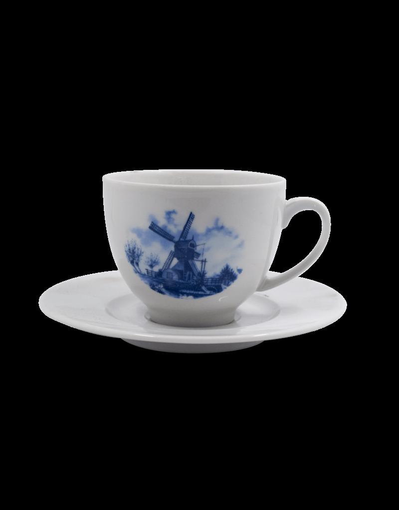 Delft Mill Cup & Saucer Set