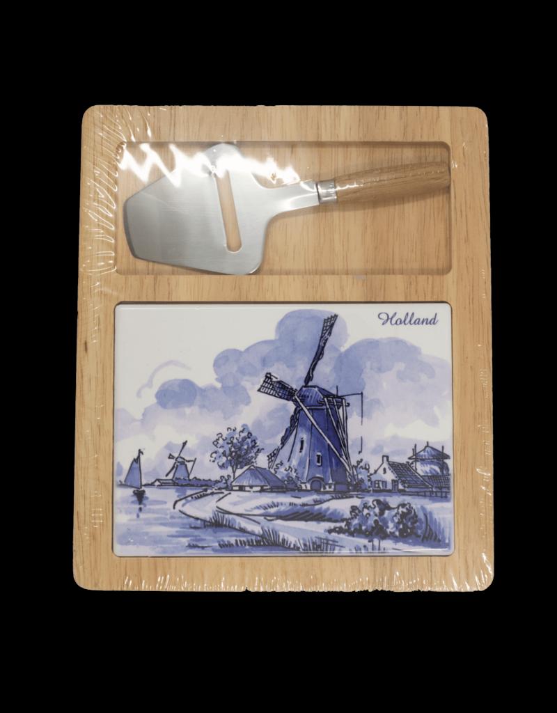 Cheese Board Set - Delft Blue
