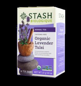 Stash Organic Lavender Tulsi 18x2g