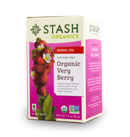 Stash Organic Very Berry 18x2g