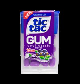Tic Tac Gum - Cassis Blackcurrant 12g
