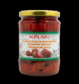 Wolski Roasted Red Peppers 580ml